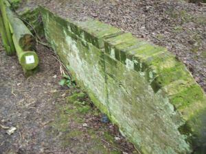 A factory brick wall