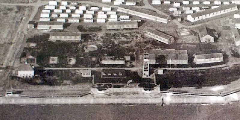 Canvey Fort Aerial