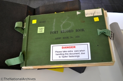 The plan book which details every aspect of the Scar's Elbow abttery, but not the army camp