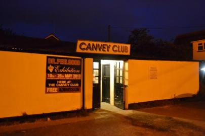 The venue - Canvey Club, an old haunt of the band