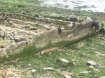 Canvey's concrete barge today