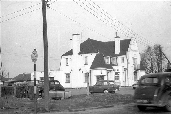 The current building c.1960 courtesy of Norman Chisman