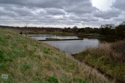 The sewage works