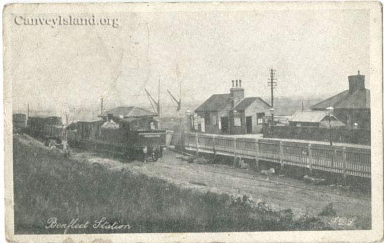 The pre-1903 station from CanveyIsland.org