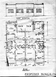 A plan of the houses - find more at CanveyIsland.org
