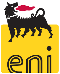The trademark six-legged dog of the ENI logo