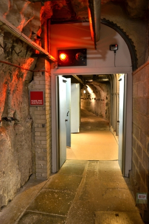 Entrance to the tunnels via the gift shop