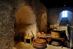 The medieval food preperation area